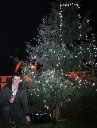 Lights switched on by gold medal winner Andrew Mc Caffrey
