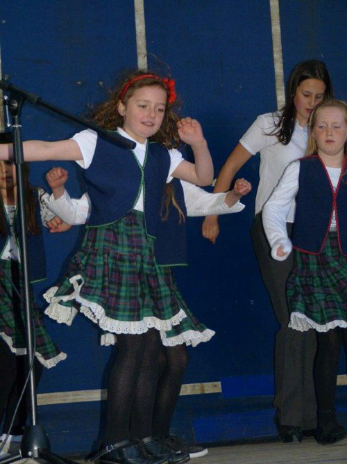 Ballyhugh dancers