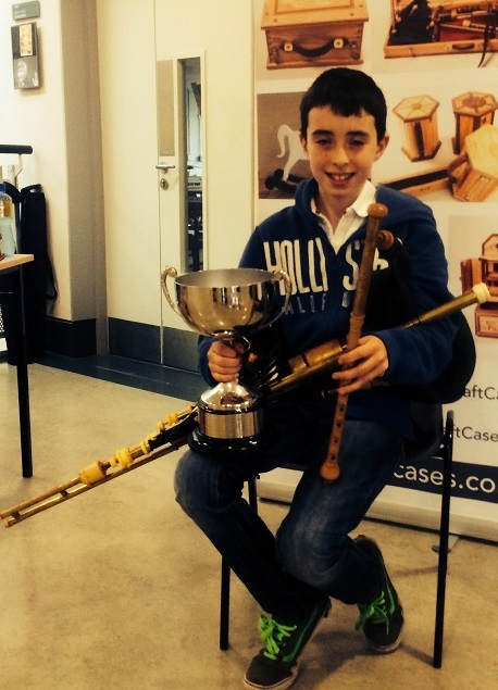 Daniel Brady All Ireland Fleadh winner 2014 Uileann Pipes