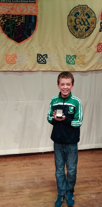 Oisin Mc Anenna Ulster Jnr. Scor winner 2015 Recitation